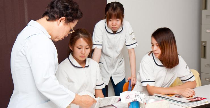 介護とトリマー学、両方がしっかりと学ぶことができる。